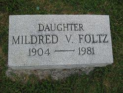Mildred Virginia <i>Mayes</i> Foltz