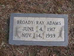 Broady Ray Adams