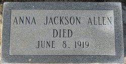 Anna Jackson Allen