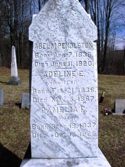 Adeline E <i>Newman</i> Pendleton