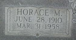 Horace M James