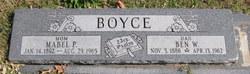 Ben W Boyce