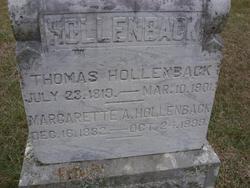 Margarette Ann <i>Dobbins</i> Hollenback