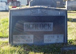 Effie <i>Rathbone</i> Blalock