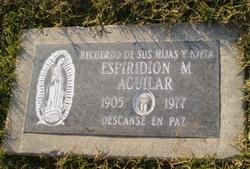 Espiridion M Aguilar