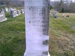 Rebecca <i>Jones</i> Doughton