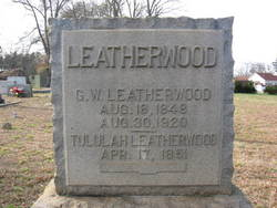 Tululah <i>Page</i> Leatherwood