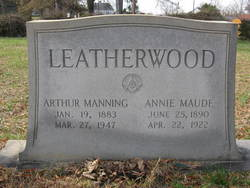 Annie Maude <i>Woodruff</i> Leatherwood