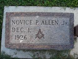 Novice P Allen, Jr