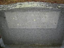 Charlotte Frances Lottie <i>Palmer</i> Manning