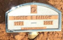 Sidney E Barlow