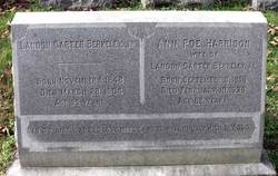 Ann Poe <i>Harrison</i> Berkeley