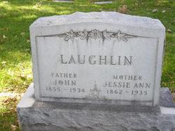 Jessie Ann <i>Ross</i> Laughlin