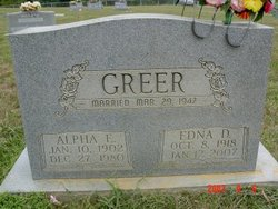 Edna <i>Daphin</i> Greer