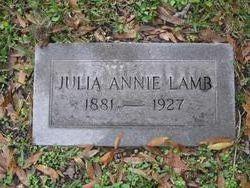 Julia Annie Lamb