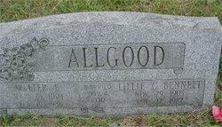 Lillie C <i>Bennett</i> Allgood