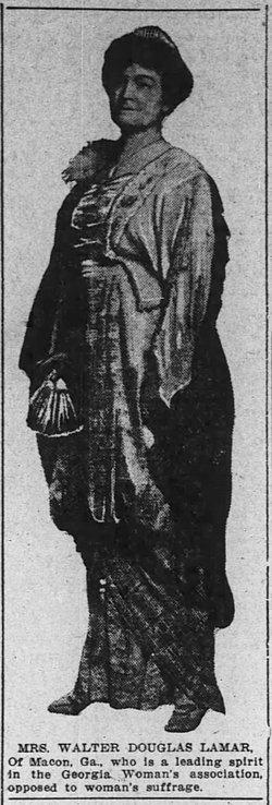 Eugenia Dorothy <i>Blount</i> Lamar