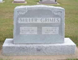 Julia E. <i>Miller</i> Grimes