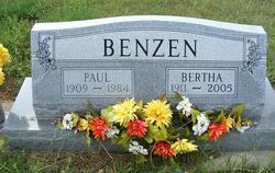 Bertha Augusta Mae <i>Brooks</i> Benzen