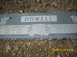 Jewell Elizabeth <i>Alvis</i> Howell