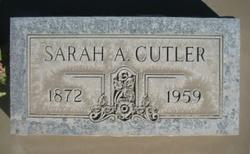 Sarah Ann <i>Tracy</i> Cutler