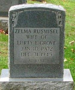 Zelma <i>Rusmisel</i> Grove