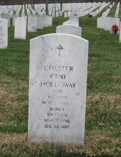 Chester Clay Holloway
