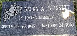 Becky A <i>Christopher</i> Blissett