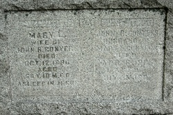 Mary L. <i>Bennett</i> Conyers