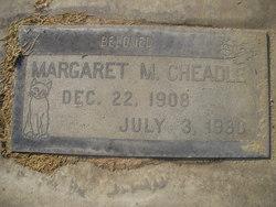 Margaret M. Cheadle