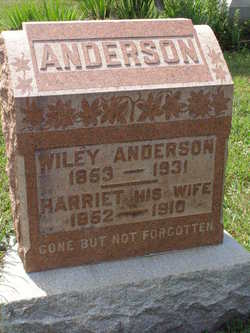 Harriet <i>Kimberling</i> Anderson