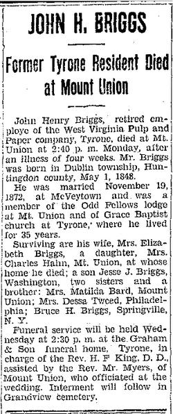 John Henry Briggs