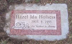 Hazel Ida <i>Wheeler</i> Hofsess