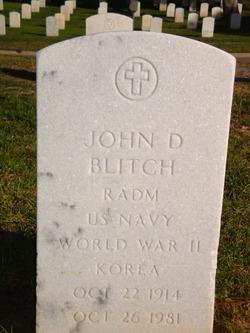 Adm John Devereux Jack Blitch