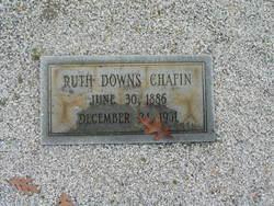 Ruth <i>Downs</i> Chafin