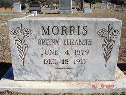 Orlena Elizabeth Lena <i>Speir</i> Morris