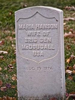 Maria <i>Hanson</i> McDougall