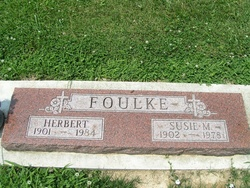 Susie M <i>Beals</i> Foulke