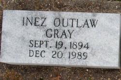 Inez <i>Outlaw</i> Gray