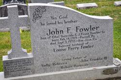 John F Fowler