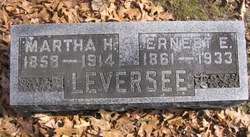 Martha H <i>Ransler</i> Leversee