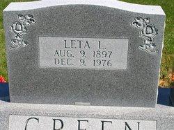 Leta L. <i>Robertson</i> Green