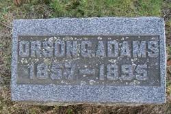 Orson G Adams