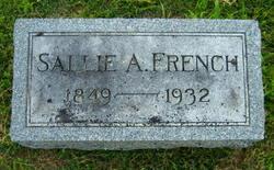 Sara Ann Sallie <i>Jones</i> French