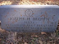 Joseph Hansdrough Brown