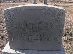 Louise <i>Schulze</i> Widner