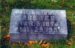 Anna Rebecca <i>DeLay</i> Brewer
