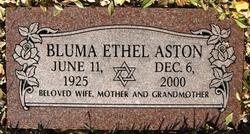 Bluma Ethel Aston