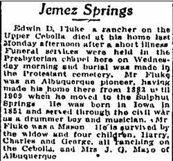 Edwin D Fluke