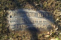 Mary Lee <i>Hurt</i> Bennett